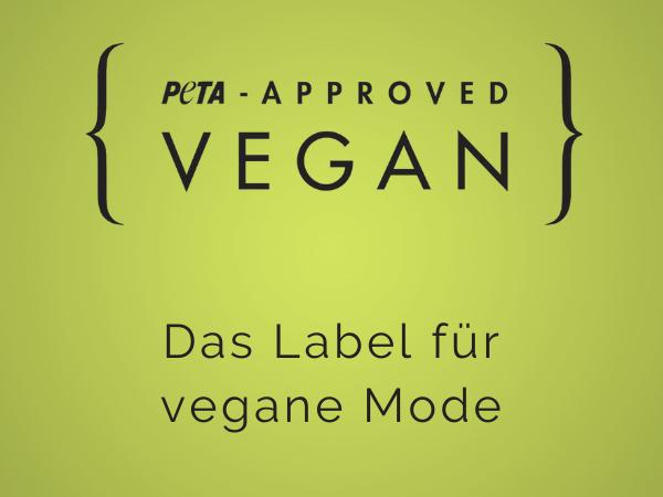 peta approved - Das Label für vegane Mode