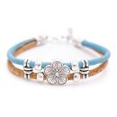 Blumen Armband (Bracelet) Braun