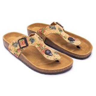 Sandalen (Sandals) - Blümchen - EU 38