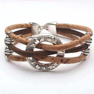 Kreis Armband (Bracelet) Braun