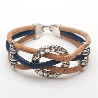 Kreis Armband (Bracelet) Blau