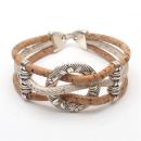 Kreis Armband (Bracelet) Weiß