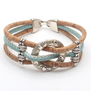 Kreis Armband (Bracelet) Türkis