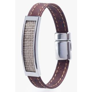 Armband (Bracelet) - BROWN - 19 cm