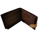 Großer Kork Geldbeutel (Wallet) Dunkelbraun