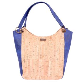 Modischer Einkaufsshopper - DENIM BLUE