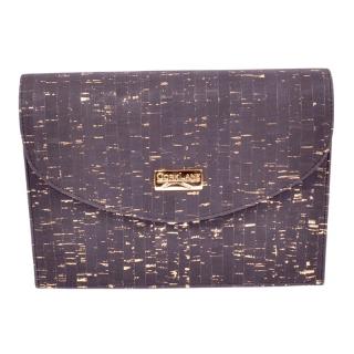 Stilvolle Schultertasche in schwarz mit gold