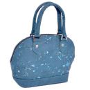 Elegante, kleine Handtasche marmoriert