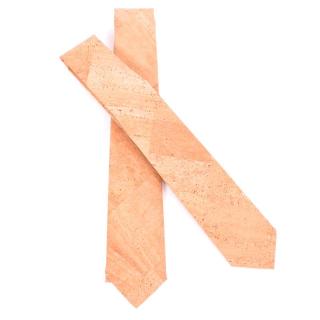 Natürliche Krawatte aus Kork