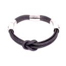 Korkarmband schwarz (Bracelet)
