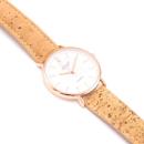 Roséfarbene Armbanduhr