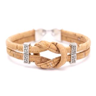 Knoten Armband (Bracelet) Natürlich