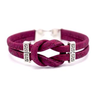 Knoten Armband (Bracelet) Rot
