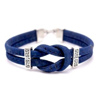 Knoten Armband (Bracelet) Blau