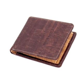 Herrengeldbörse braun/blau/schwarz (Wallet) Braun