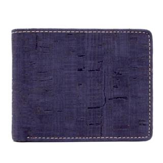 Herrengeldbörse braun/blau/schwarz (Wallet) Blau