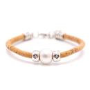 Weißes Perlen Armband (Bracelet)