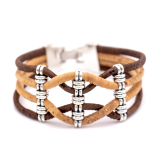 Breites Riemenarmband (Bracelet) Braun