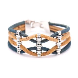 Breites Riemenarmband (Bracelet) Türkis