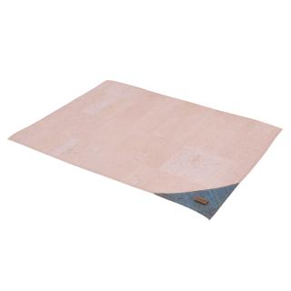 Tischset weiß- türkis (Placemat)