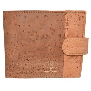 Nachhaltiger Kork Geldbeutel (Wallet) Hellbraun ohne Naht