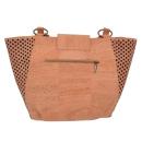Natürliche elegante Einkaufstasche mit Muster