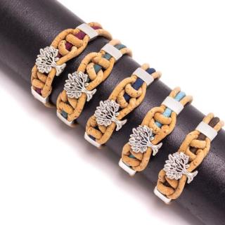 Knoten Lebensbaum Armband (Bracelet) grün