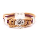 Knoten Lebensbaum Armband (Bracelet) hellblau